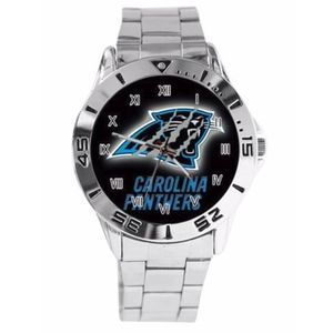 Other - Carolina Panthers Stainless Steel Band Watch NWT